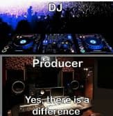 dj vs producer