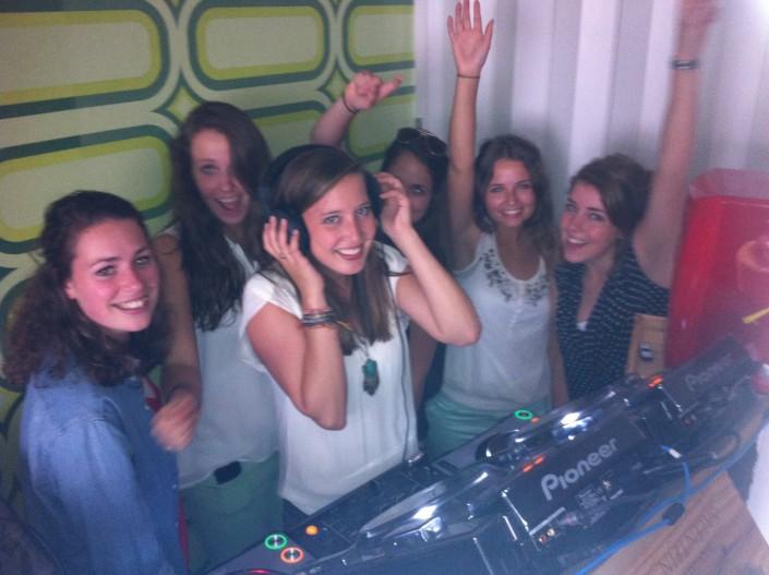 6 studenten dames workshop