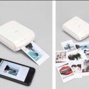 Fuji instax polaroid foto printer mobiel