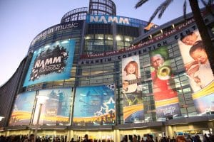 Anaheim, Californië Namm music congress