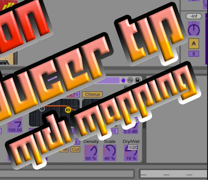 Ableton live's midi mapping is erg simpel